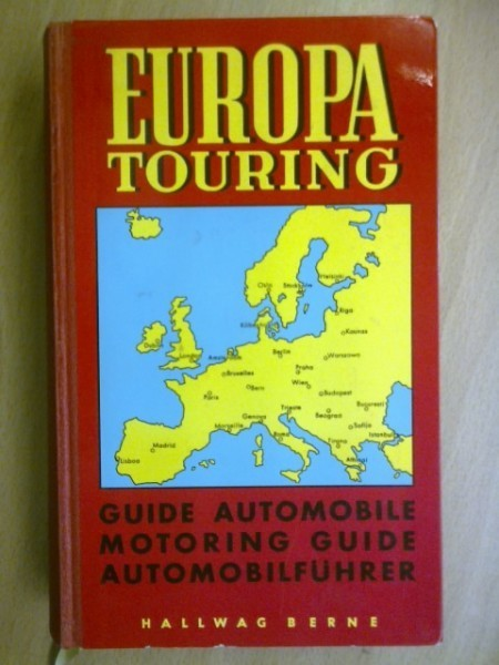 Europa Touring - Guide automobile. Motoring Guide. Automobilführer  1965
