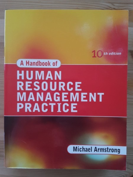 Armstrong Michael: A handbook of human resource management practice